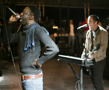 Saul Williams & Trent Reznor de NIN