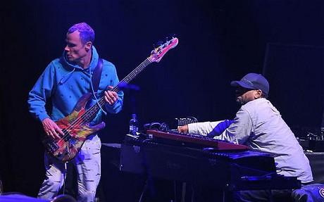 Flea & Dj Theo Parrish
