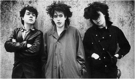 The Cure en 1979 - © D.R