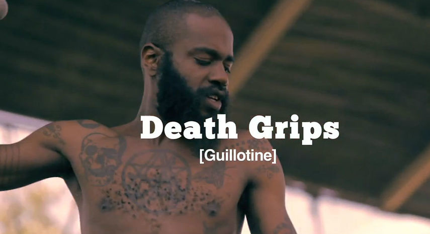 death grips guillotine