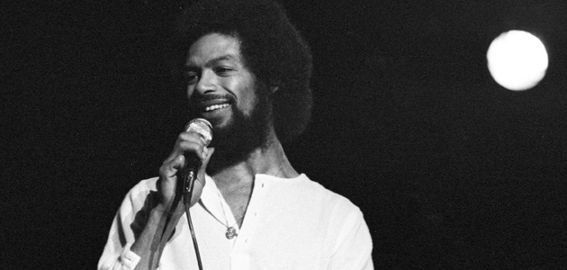 Gil Scott-Heron, 1977. Photo: Michael Ochs Archives/Getty Images