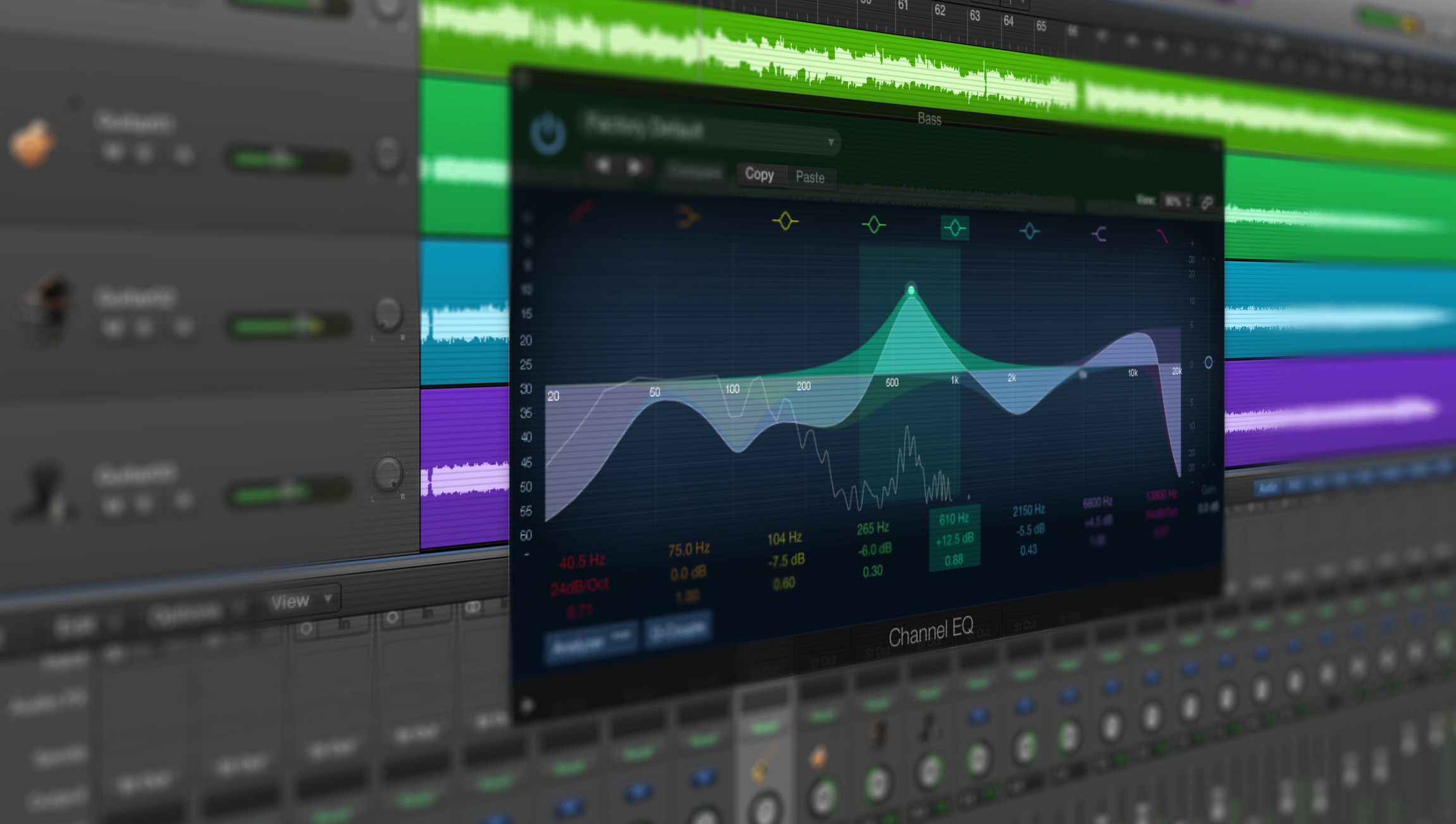 logiciel ordinateur mastering audio