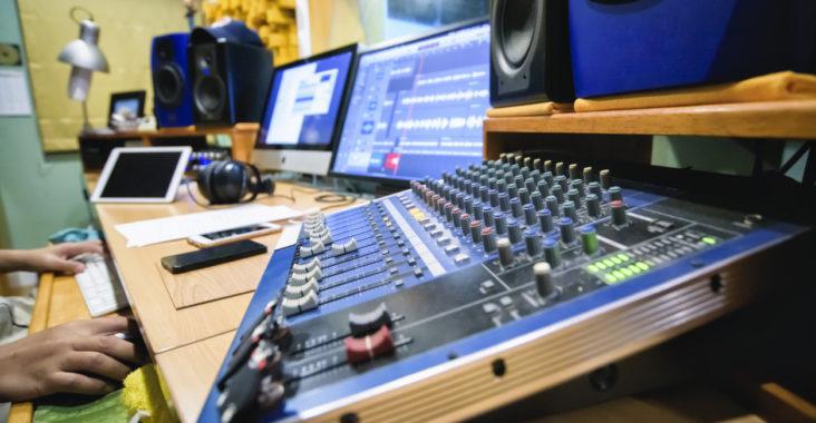 matériel mastering audio
